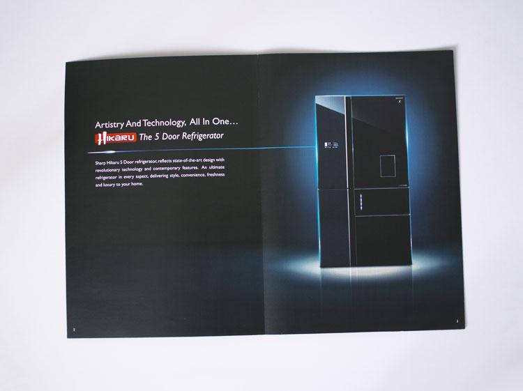 Sharp Hikaru 5 Door Refrigerator Hnhoyle